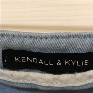 Kendall & Kylie Skirts - Kendall + Kyle mini skirt